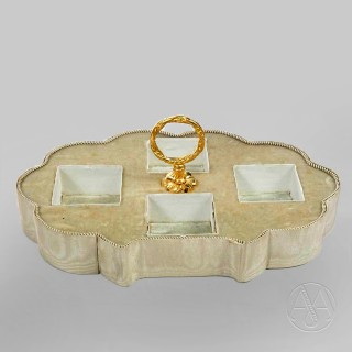 'Grand Tour' Gilt Scent Casket