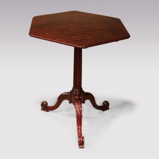 Mid 18th Century Chippendale period mahogany Tripod Table