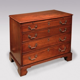 Mid 18th Century chippendale period padouk wood Chest