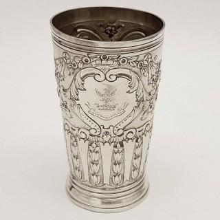 Antique Silver Beaker