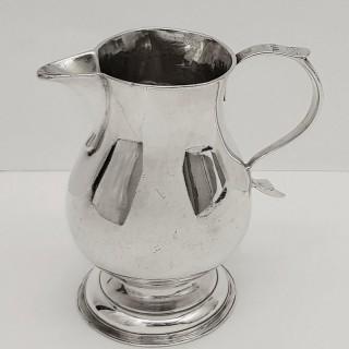 George II Silver Jug