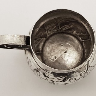 Antique Silver Miniature Mug