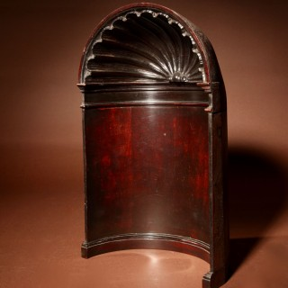 Mahogany Architectural Model Of An Alcove, In the Thomas Chippendale Style.