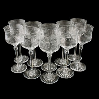Set of 10 Port or Sherry Glasses