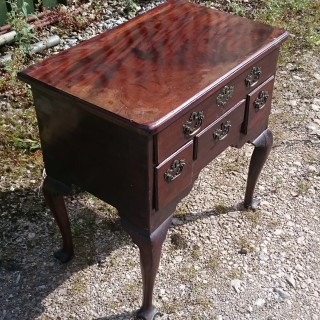 George II Period Mahogany Antique Side Table