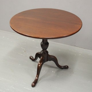 George III Mahogany Snap Top Table