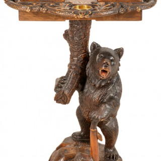 Black Forest Bear Side Table, Late 19th Century