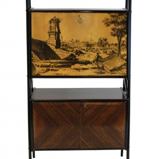A MID-CENTURY BAR CABINET BY DASSI