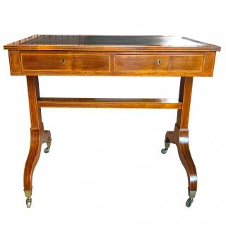 Antique Sheraton Rosewood Writing Table