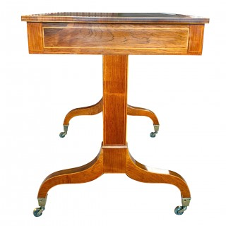 Antique Sheraton Rosewood Writing Table