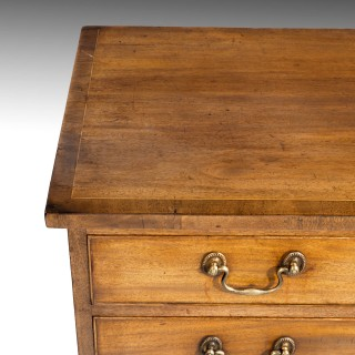 A Fine Sheraton Period Chest of Drawers of Small Proportions