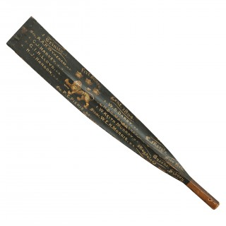 Rowing Oar Blade, 1st Trinity Lent Boat 1894. Cambridge University