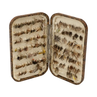 Vintage Hardy Neroda Fly Fishing Box With Flies