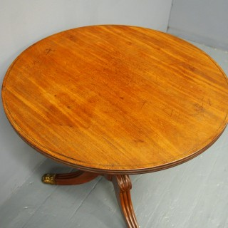 George IV Mahogany Occasional Table
