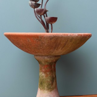 Reclaimed Copper Cascading Water Fountain