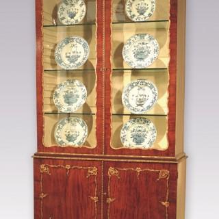 Mid 18th Century mahogany & gilt gesso Display Bookcase.