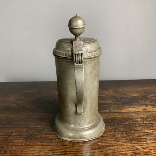 Antique Pewter Tankard
