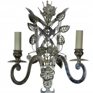 A PAIR OF BAGUES STYLE SCONCES