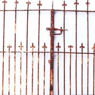 Pair Of Victorian Wrought Iron Gates