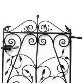 Reclaimed Wrought Iron Garden Gate