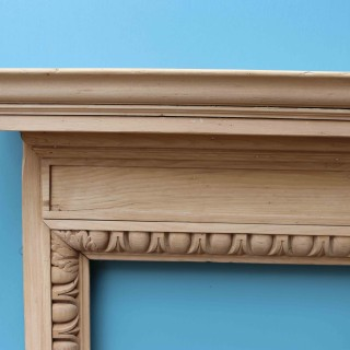 Antique Reclaimed Pine Fire Surround