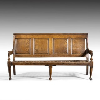 A Good and Original Mid 18th Century Oak Bench