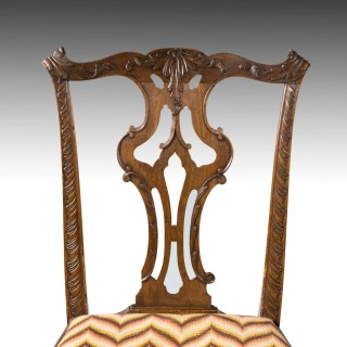 An Attractive Late 18th Century Mahogany Single Chair