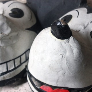 Two Very Rare German Walt Disney Mickey Mouse Masks c.1935
