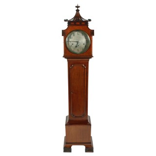 Chinoiserie Design Grandmother Clock