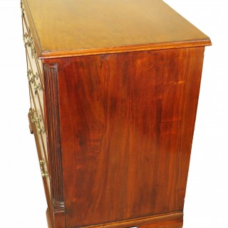 18th Century English North Country Walnut Chest Of Drawers