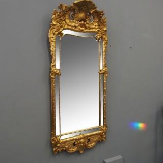 Swedish Giltwood Wall Mirror