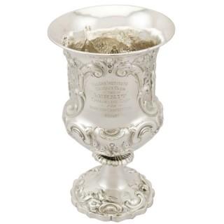 Sterling Silver Goblet - Antique Victorian