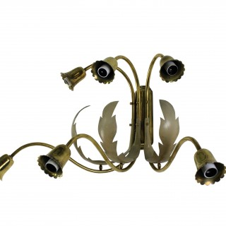 A PAIR OF LARGE MID CENTURY ITALIAN SCONCES