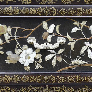 Rare and fine Meiji period 1868-19120 Japanese inlaid Shadona