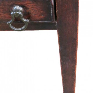 18th Century Antique Mahogany Miniature Side Table