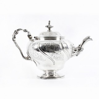 Antique English George IV Sterling Silver Tea Pot by Paul Storr London 1829
