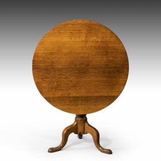 A Very Good, Large, George III Period Oak Tilt Table