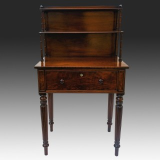 Gillows Antique Mahogany Writing Table Small Desk