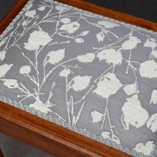 Edwardian Dressing Table Stool