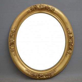 French Giltwood Wall Mirror