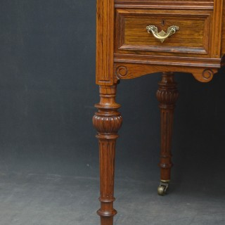 Victorian Rosewood Writing Table