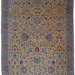 Antique Amritsar carpet, Vase design, Persia