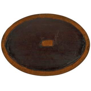 Large Georgian Mahogany Tray