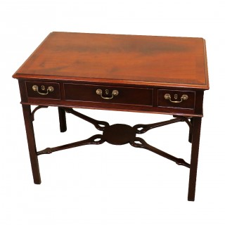 Large 18th Century Mahogany Antique Chippendale Period Side Table