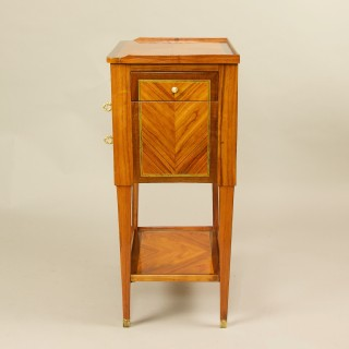 Small 18th Century Louis XVI Parquetry Side Table or