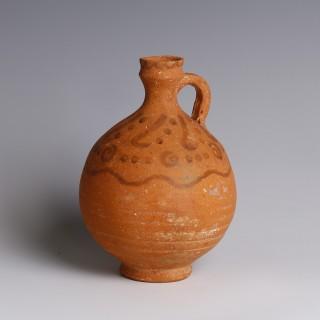 Nabataean Terracotta Pitcher Bottle