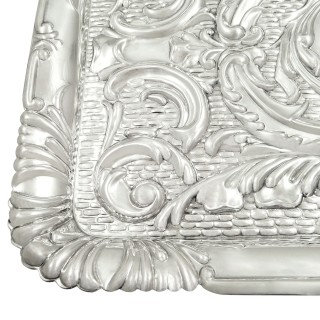 Antique Edwardian Sterling Silver Dressing Tray 1910