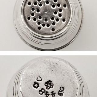 Antique Silver Pepper