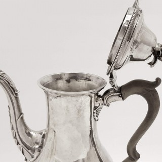 George III Silver Coffee Pot