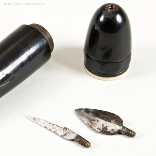 French Scrivener's Tool with Interchangeable Blades